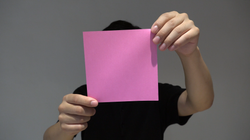a still from the video
