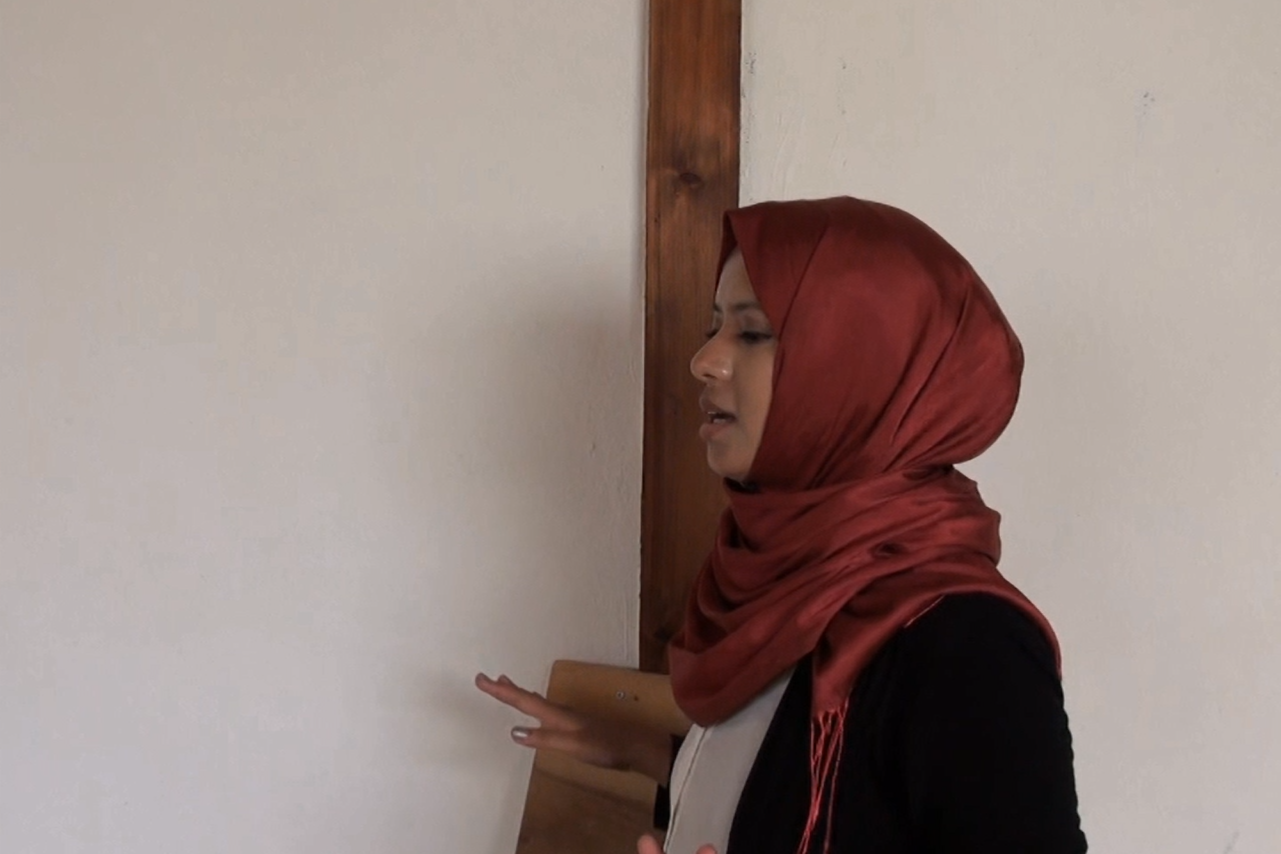 Arabic speaker