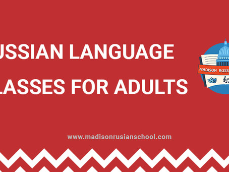 Russian Language classes for adults!