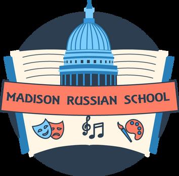 Logo for Madison Russian School