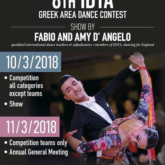 #idta #greece #seminar #competition #sho