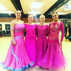 Girls in pink!!! #teamdangelo