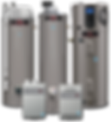 Ruud/Rheem/Bradford White Water Heaters
