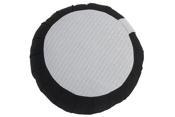 zafu zigzag noir