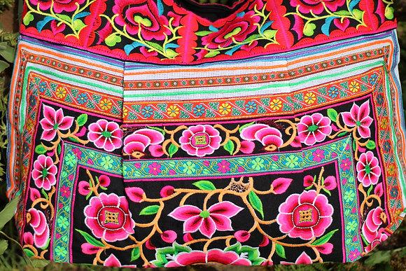 sac ethnique hmong brode thailande