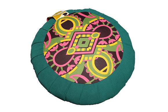 zafu motif 60's vert