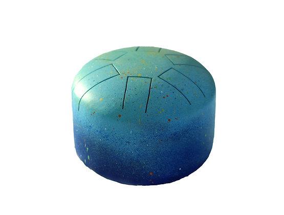 mini tongue drum bleu
