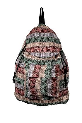 sac a dos ethnique vintage tissage hmong