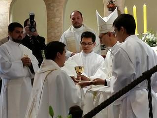 P. Manuel, un nuevo sacerdote para el Instituto.