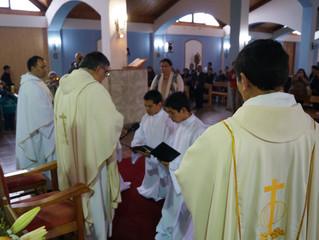 Octubre: Formación de los seminaristas