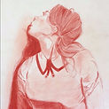 Reproduction in red pencils
