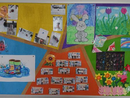 Pinnwand der Lernhäuser