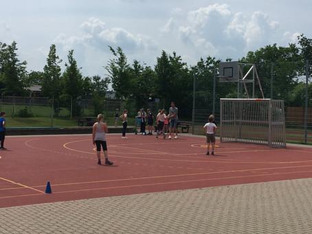 Endlich wieder Sportunterricht in allen Stamgruppen!
