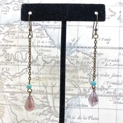 Indian Copper Head Earrings