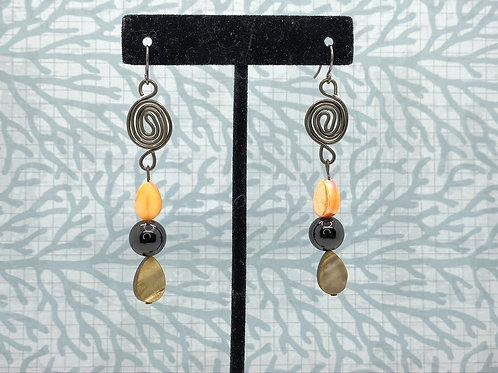 Mocha Swirl Earrings