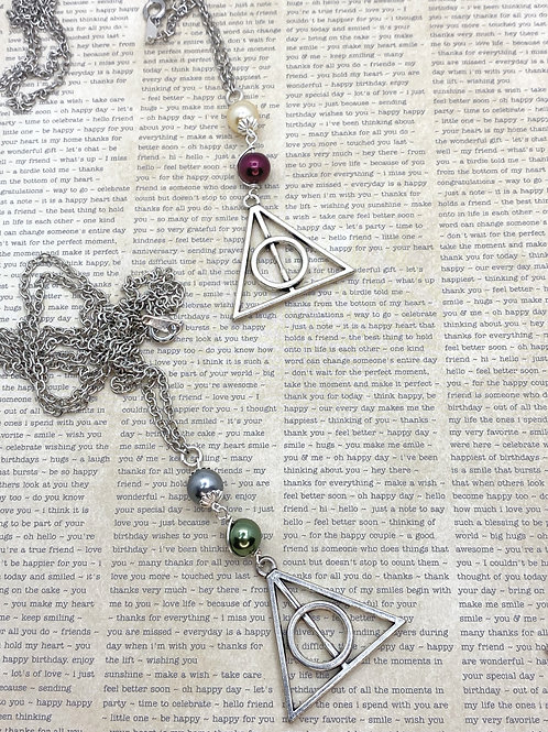 The Boy Who Lived Necklace