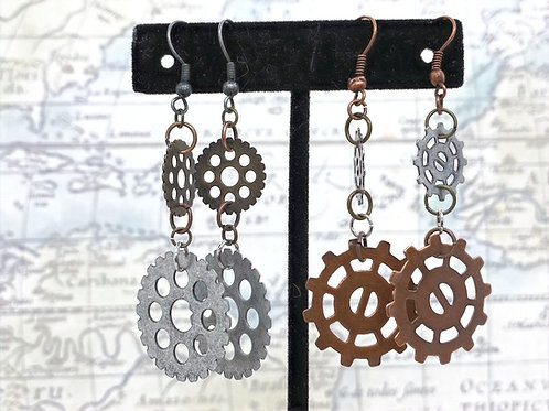 Gears #2 Earrings
