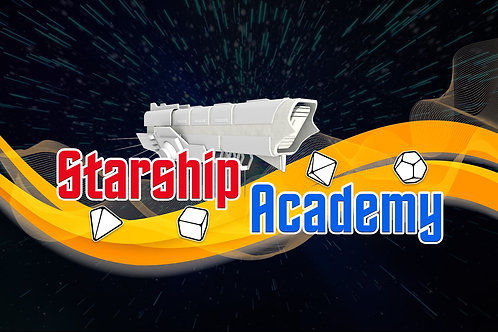 Starship Academy Roll & Write (light)