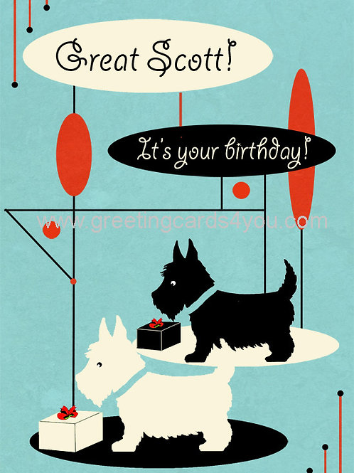 5720150058 - Great Scott it's your birthday