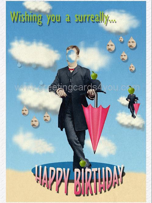 5720170026 - Wishing You a Surreally Happy Birthday