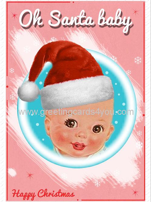 5720180014X - Oh Santa Baby!