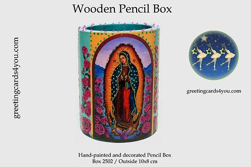 Wooden Pencil Box - 2502