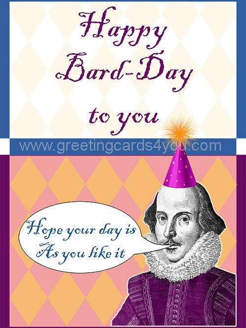 5720190043 - Happy Bard-Day