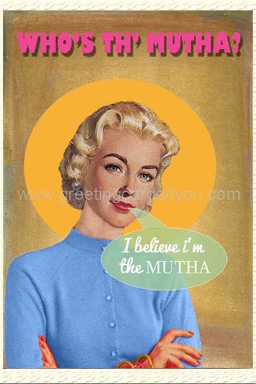 5720200006 - Who's the Mutha