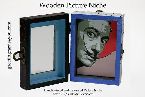 Wooden Picture Niche box 2303