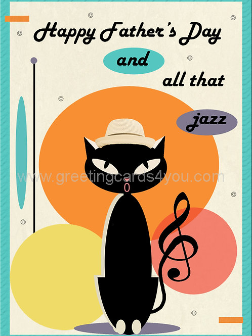5720170018 - Happy Father's day and all that jazz