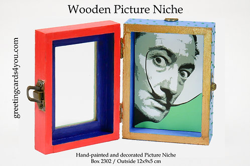 Wooden Picture Niche box 2302