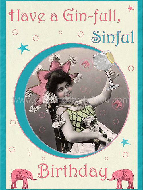 5720170040 - Have a Gin-full Sinful Birthday