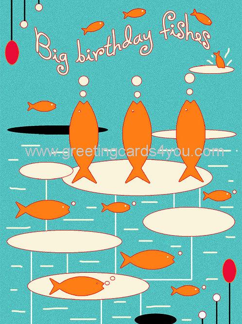 5720150064 - Big Birthday Fishes