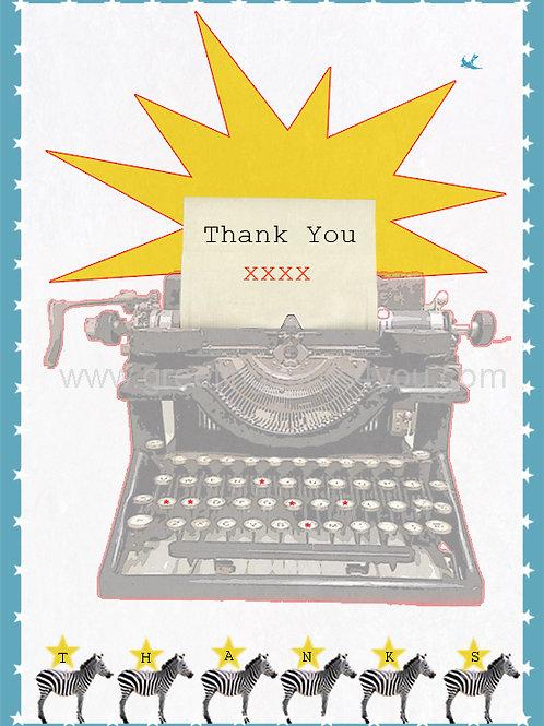 5720120024 - Thank You (typewriter)