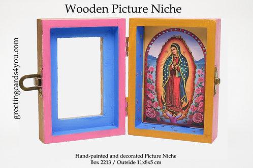 Wooden Picture Niche box 2213