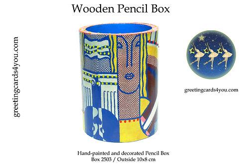 Wooden Pencil Box - 2503