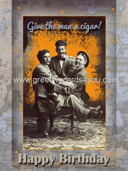 5720170025 - Give the man a cigar
