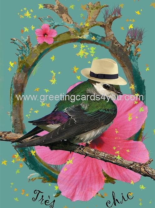 5720130107FR - Tres chic (cool bird)