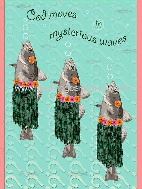 5720160024 - Cod moves in mysterious waves