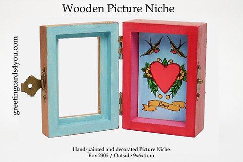 Wooden Picture Niche box 2305