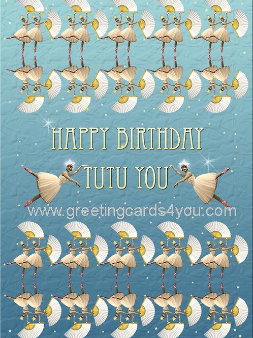 5720180002 - Happy Birthday tutu you