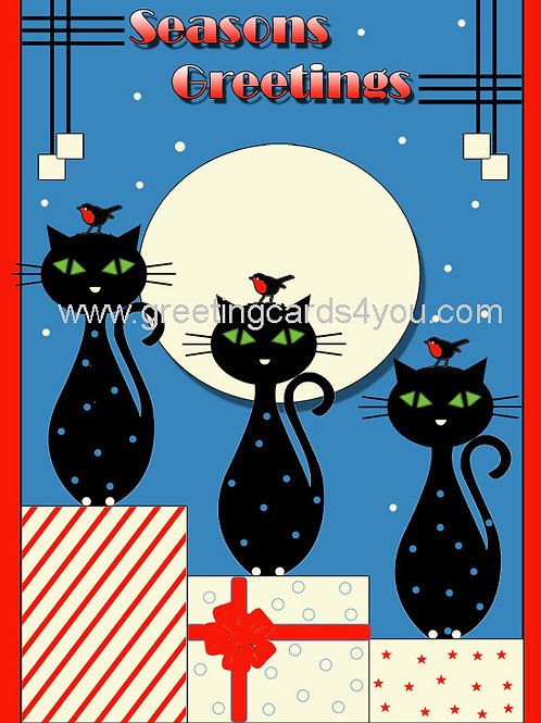 5720160036x - Blue little kitties