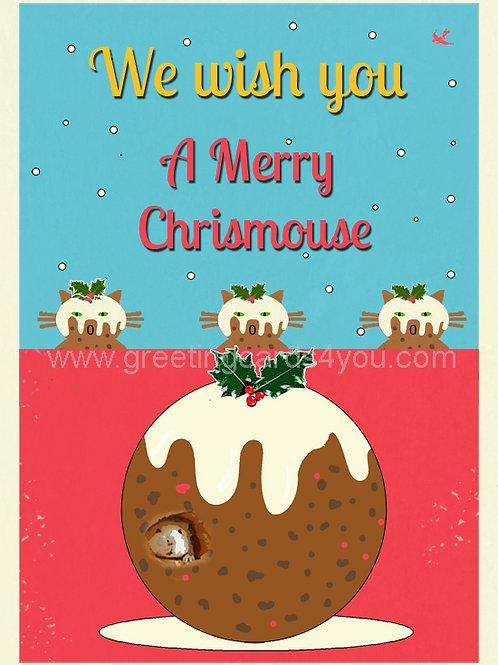 5720190023X - Happy Chrismouse