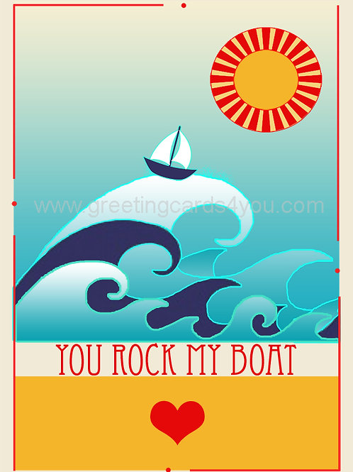 5720210009 - You Rock My Boat