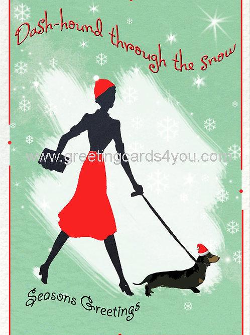 5720150048x - Dash-hound through the snow