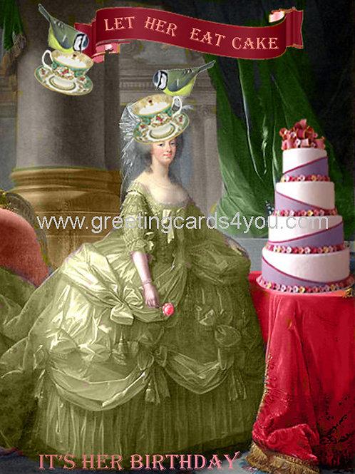 5720130005 - Let her eat cake
