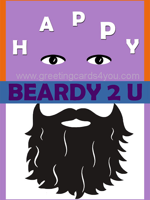 5720190025 - Happy Beardy 2 U