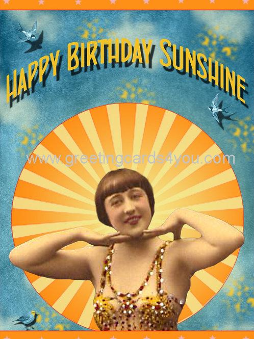 5720170011 - Happy Birthday Sunshine