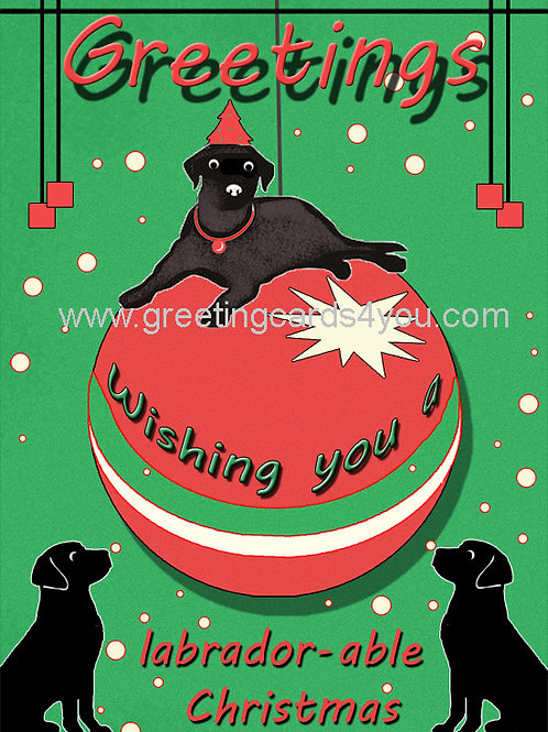 5720160031x - Labrador-able Christmas