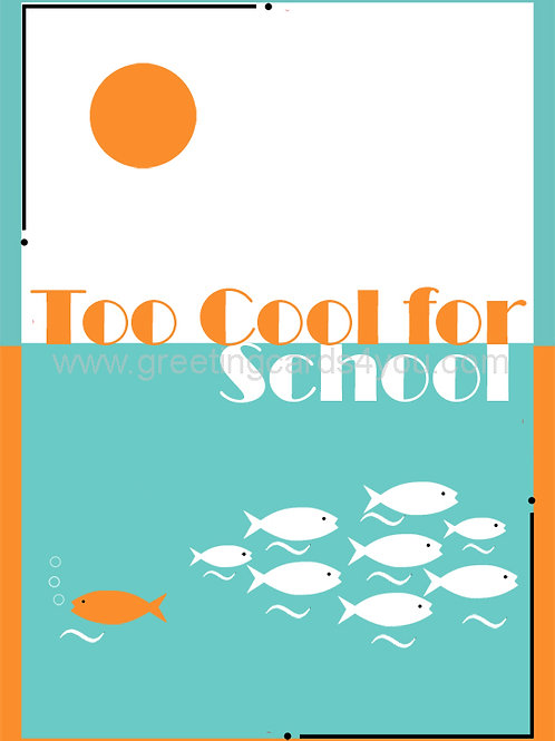 5720190038 - Too Cool for School